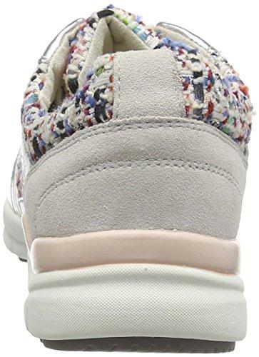 Tamaris 23611, Low-Top Sneaker donna Multicolore (Mehrfarbig (Silver Comb 948))