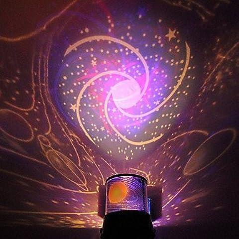 Brilliant-proiettore di luce, galassia, effetto notte stellata, per festa di Natale