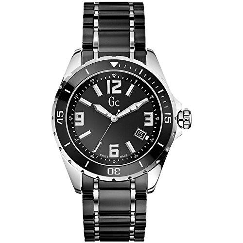 Guess X85008G2S - Reloj Analógico Para Hombre, color Negro