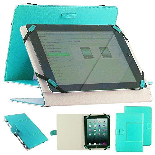 """ebestStar - pour tablette PC 9"""" 10"""" 10,1"""" 10.2"""" (23,5cm < longueur < 27,5cm et 14,0cm < largeur < 18,2cm) Housse universelle, étui support d'inclinaison Couleur BLEU. Ex compatible : Galaxy Tab A, Tab A 2016, Tab E, Tab S S2 / iPad 2 3 4 Air / Lenovo TAB2 A10 / Archos 101D Neon, 101B Oxygen, ARNOVA G4, G3, G2 / Acer ICONIA A3, One 10 / Asus Zenpad 3S 10 Z500M, 10 Z300C, Memo Pad 10 ME103K ME102A / Epad Apad, Blackberry Player Book, HTC Flyer, Motorola XOOM, Logicom, Artizlee ATL-21 ..."""