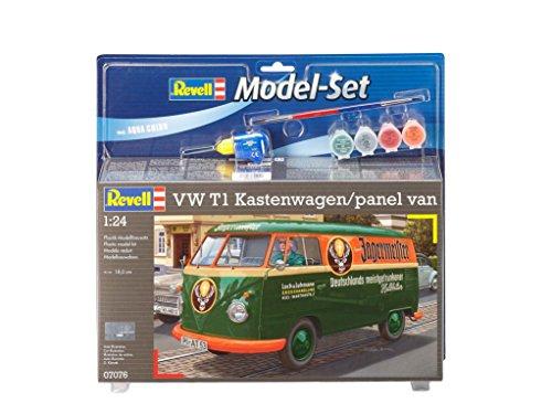 Revell 67076 Modellbausatz VW T1 Kastenwagen im Maßstab 1:24