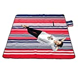 XXX-Large Outdoor Picnic Blanket with Waterproof Backing - 200 x 200 cm Beach