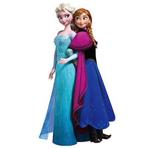 (JUNMAONO Frozen Elsa Anna Wandaufkleber/Wandgemälde/Wand Poster/Wandbild Aufkleber/Wandbilder/Wandtattoo/Tapete/Tapezieren/Tapeten/Wand Zeitung/Instant Aufkleber)