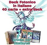 Yu-Gi-Oh! - Deck FOTONICO - Mazzo Completo di 40 Carte + Extra Deck Pronto per Duellare