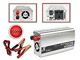 Vetrineinrete® Inverter 1500 watt di potenza 12V a 220V per auto caricabatterie convertitore di tensione trasformatore portatile per camper converter da viaggio G9