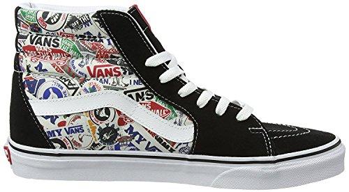 VANS Sneakers reduziert - SK8-HI MLX - Stickers black Mehrfarbig ((mlx) Stickers/black)