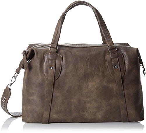 Tamaris Damen Cordelia Shoulder Bag Schultertaschen, Braun (Mocca), 37x28x14 cm