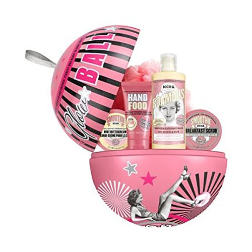Soap & Glory Glow Ball Smoothie Star - Beauty Bath Gift Set For Women & Girls.