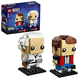 LEGO- Brickheadz Marty McFly e Doc Brown Set Costruzioni, 41611 LEGO BrickHeadz LEGO