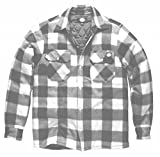 DICKIES Holzfällerhemd Thermohemd PORTLAND (S, Weiß) für DICKIES Holzfällerhemd Thermohemd PORTLAND (S, Weiß)