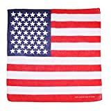 Bandera Pañuelos St.George Irlandés,Jamaiquino Union Jack EE.UU. Bandana, Ghana, Brasil Bandera - Bandera EEUU, talla única, One size