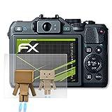 atFoliX Displayschutz für Canon PowerShot G15 Spiegelfolie - FX-Mirror Folie mit Spiegeleffekt