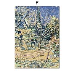 TYLPK Van Gogh Ölgemälde Leinwand Gemälde (Druck) F1 20X25 cm No Framed