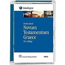 Novum Testamentum Graece (Nestle-Aland): 28. rev. Auflage mit textkritischem Apparat; Bibeltext mit Suchprogramm