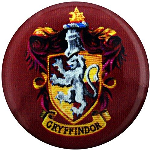 Harry Potter Pin Abzeichen Button Brosche Gryffindor Haus Schule Wappen (Button Wappen)