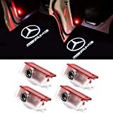 Car Door Lights logo LED proiettore ombra Shadow Ghost Light Courtesy Welcome logo (For AMG-4PCS)