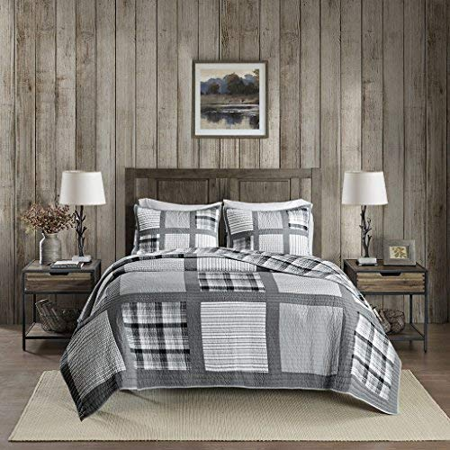 Woolrich Quilt Mini Set, Gray, Full/Queen