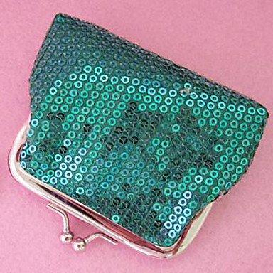 Mode-Sequin-niedliche Karten-Tasche Green