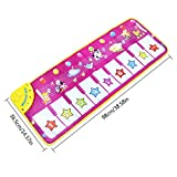 Musical Toys Baby Musical Game Carpet Mat Piano Mat Musical Instrument Toy Touch Play Keyboard Gym Play Mat for Kids