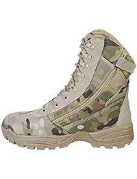 MCA Tactical Boots Delta Force «outdoort 811150 Noir ou Beige GR. 38-47 - Noir - Noir, 46 EU
