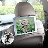 Universal Auto KFZ-Kopfstützen Tablet Halterung, Einstellbare Rücksitz Kopfstützen Halterung für iPad 2/3/4/Mini/Air, Tragbare DVD-Player und die Meisten 7-12 Zoll Tablets