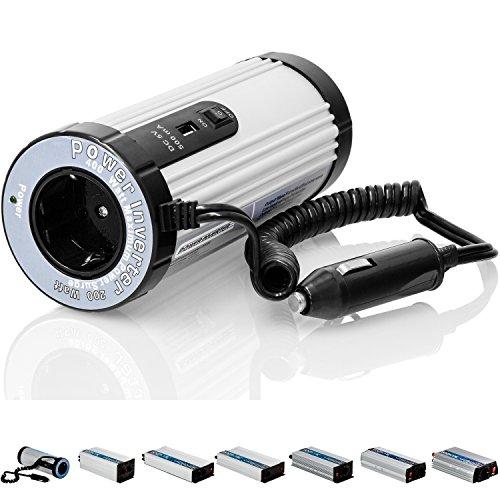 VOLTRONIC® MODIFIZIERTER Sinus Spannungswandler 300W mit E-Kennzeichen, 12V auf 230V, USB, 3 Jahre Garantie, Stromwandler Inverter Wechselrichter Auto PKW