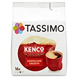 Tassimo Kenco Americano Smooth Coffee Pods (16 pods, 16 servings)