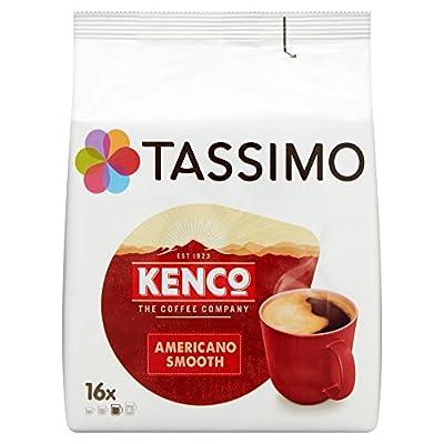 Tassimo Kenco Americano Smooth Coffee Pods (16 pods, 16 servings)