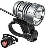 Best Bicycle Lights 1200 Lumens Rechargeables - Bike Lights, LED Bicycle Front Light USB Rechargeable Review