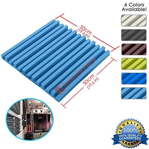 super-dash-1-piece-de-50-x-50-x-5-cm-bleu-clair-insonorisation-herringbone-raye-acoustique-disolatio