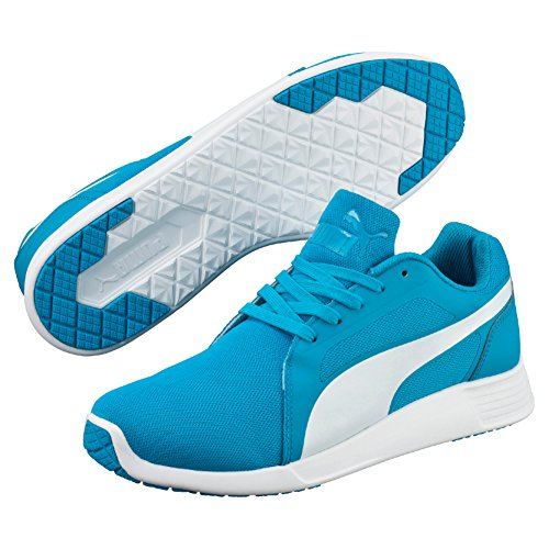 Puma St Trainer Evo, Sneakers Basses mixte adulte Bleu (Atomic Blue/White)