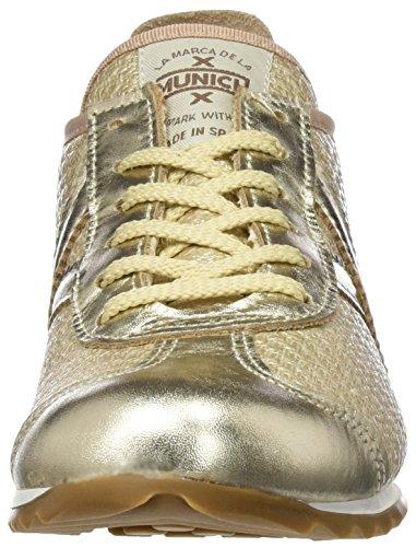 Munich Damen Osaka Sneaker, Beige, 36 EU Gold