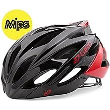 Giro Mips Bicycle Helmet, unisex, color Bright Red/Blk, tamaño medium