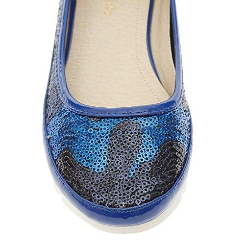 catisa-bal4_ rs104-ballerine-femme Blau - blau