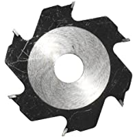 Einhell Fräserblatt 100x22x3,8 mm 6 Z. Disco para Engalletadora con 6 Dientes, Rojo