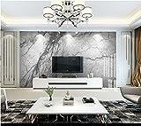 Wxlsl Benutzerdefinierte 3D-Tapete High-End-Atmosphärische Graue Platte Tv Wohnzimmer Schlafzimmer Wand-350Cmx256Cm