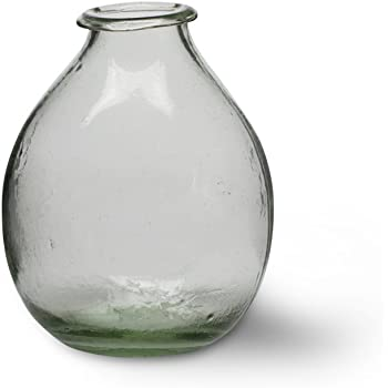 Recycled Glass Vase Large From Garden Trading Amazon Kitchen