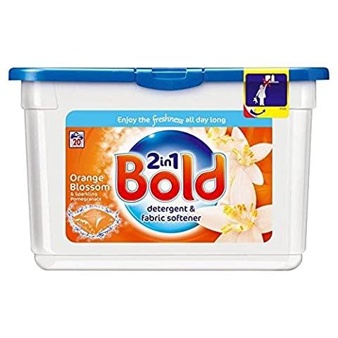 Bold Bio Washing Capsules Orange Blossom20 per pack
