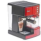 #7: Oster BVSTEN6601R-049 1050-Watt Prima Espresso and Latte Maker (Red)