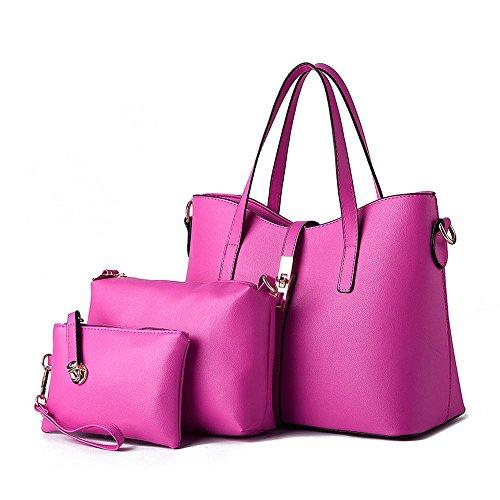 koson-man-borsa-tote-donna-rosa-rosso
