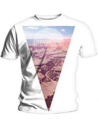 Official T Shirt BRING ME THE HORIZON White CANYON