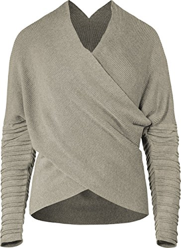 Musterbrand Star Wars Maglione Donna Rey Wrap Top Beige S