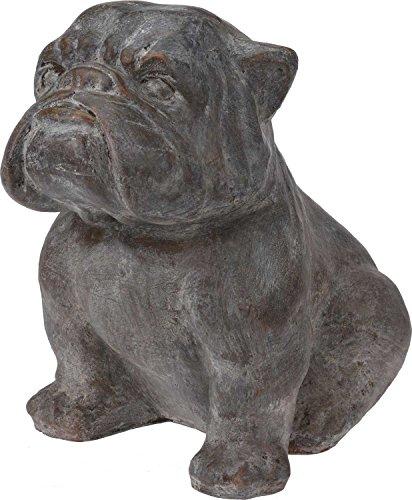 Eliware Deko- Gartenfigur Hunde Bulldogge | 43x31x43cm