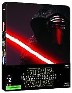 Star Wars - Le Réveil de la Force [Combo Steelbook Blu-ray 2D + Blu-ray Bonus + DVD]