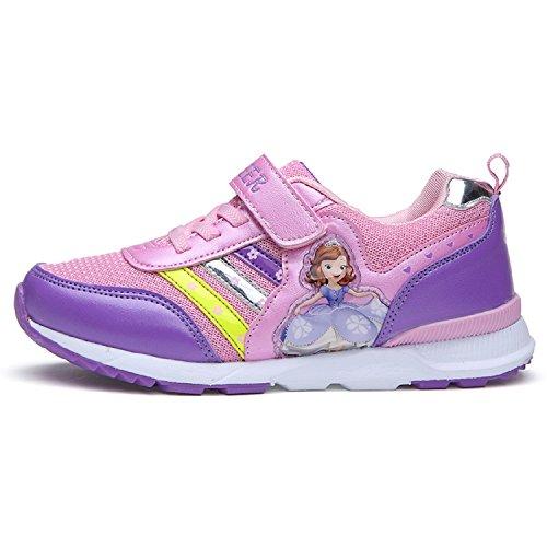 De Tênis Do Sapatos Rainha De Roxo Gelo Meninas Velcro Ouro Crianças Sapatilha T qtxPwnzIat