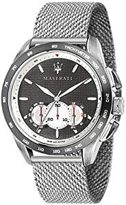 Orologio da uomo, Collezione Traguardo, con movimento al quarzo e funzione cronografo, in acciaio - R887361200