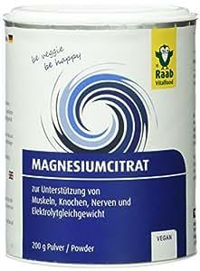 Raab Vitalfood Magnesium-Citrat Pulver 200 g, 1-er Pack (1 x 200 g)
