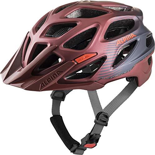 Alpina Unisex- Erwachsene Mythos 3.0 LE Fahrradhelm, Indigo-Cherry Drop, 57-62 cm