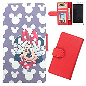 DooDa - For LG spirit PU Leather Designer Fashionable Fancy Wallet Flip Case Cover Pouch With Card, ID & Cash Slots And Smooth Inner Velvet With Strong Magnetic Lock