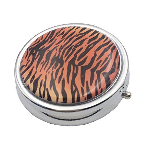 sten Speicher Organizer Container mit Spiegel - Tiger Stripes Drucken ()